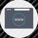 broser, language, programming, www icon