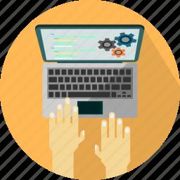 coding, design, html, web icon