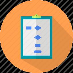 design, flowchart, template, web icon