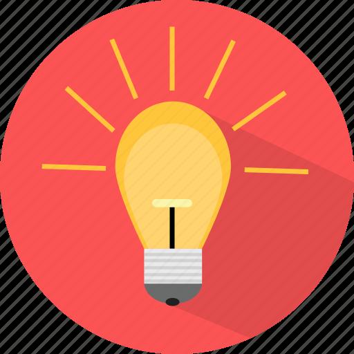 creative, idea, think, web icon