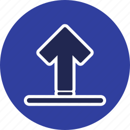 transfer, up arrow, upload icon