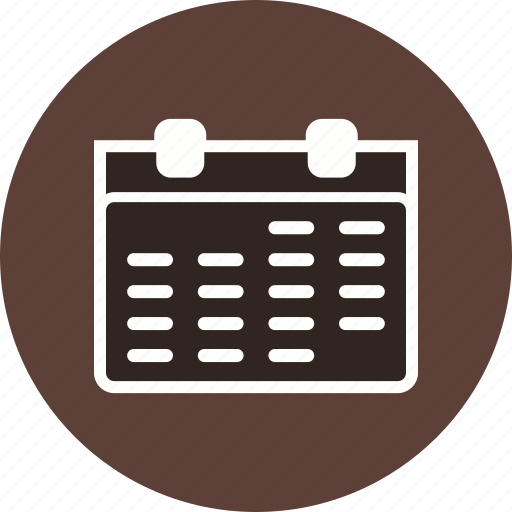 appointment, calendar, month, schedule, timetable icon