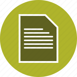 document, files, folder, page, sheet icon