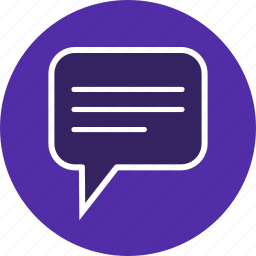 message, text, type, typing icon
