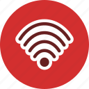 internet, network, signal, wifi icon
