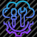cloud, hosting, maintenance, manage icon
