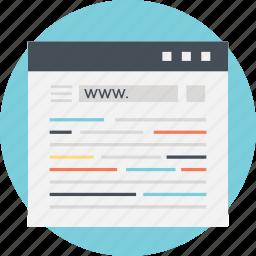 html, source code, web coding, web development, web programming icon