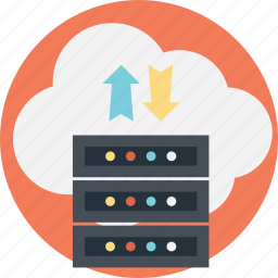 backup system concept, cloud data backup, cloud data storage, cloud server data, data backup icon