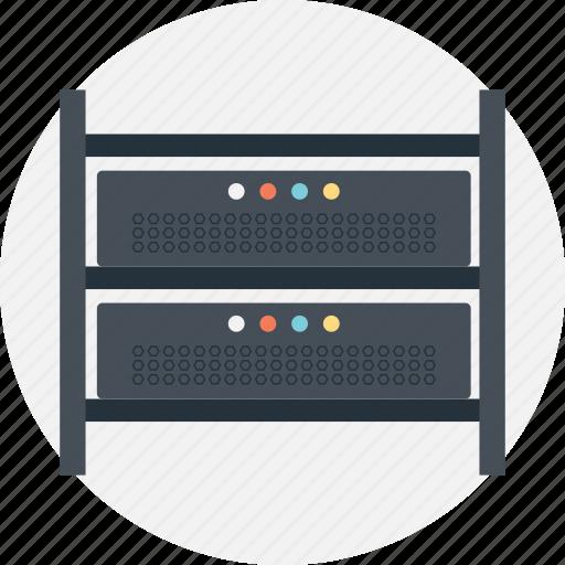 enterprise computing solutions, internet server rack, network equipment shelves, rack and stack, server rack icon
