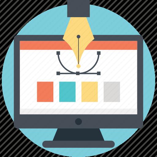 designer elements, graphic design, web design, web design project, web design tutorial icon