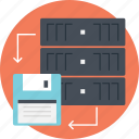 server data, server, remote backup, online backup, backup data, server computer