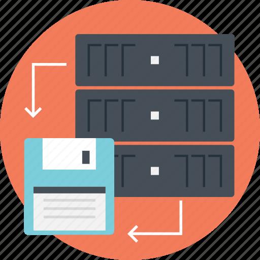 backup data, online backup, remote backup, server, server computer, server data icon