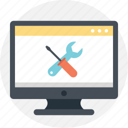page not found, web management, web tools, webpage settings, website development icon