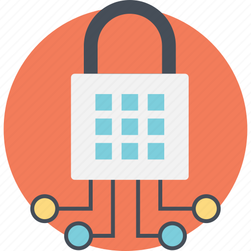 information security, network integration, network protection, network security, web security lock icon