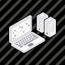 business progress, data analysis, data analytics, online graph, web analytics icon