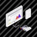data analysis, web analysis, web analytics, web statics, web traffic icon