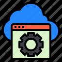 cloud, hosting, internet, service, web