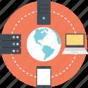 global hosting server, internet hosting, server hosting, web hosting, website hosting icon