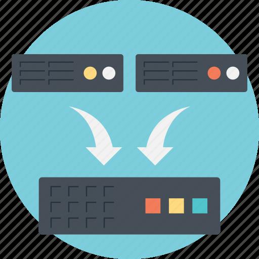 backup, backup information, data backup, online backup data, server icon