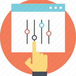 interface control, ui controls, user experience, user interface control, web ui icon