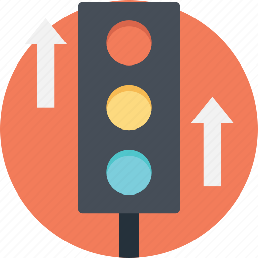 increase traffic, online business growth, traffic light signal, web promotion, website traffic icon