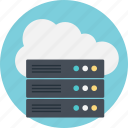 big data, cloud server, cloud technology, data cloud, server data icon