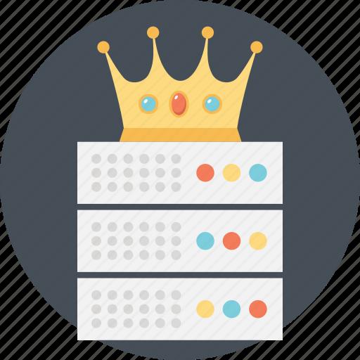 hosting database, hosting king, hosting server, server king, web hosting expert icon