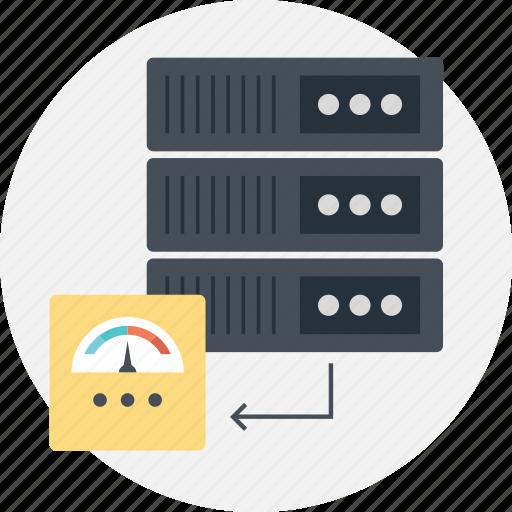 analyze load speed, server response time, server speed test, web hosting performance, website speed test icon