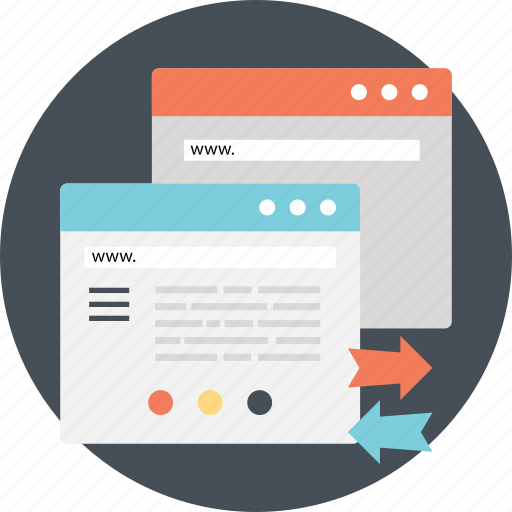 internet browsing, online web search, surfing internet, web search, web traffic icon