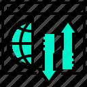 communication, domain, forwarding, network, website icon