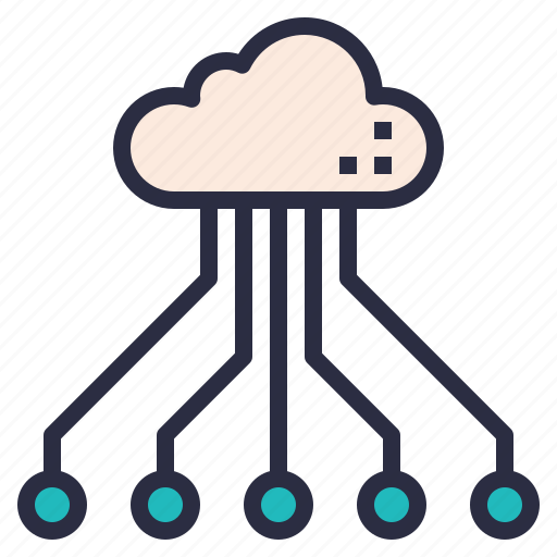 Cloud, service, storage, system, technology icon - Download on Iconfinder