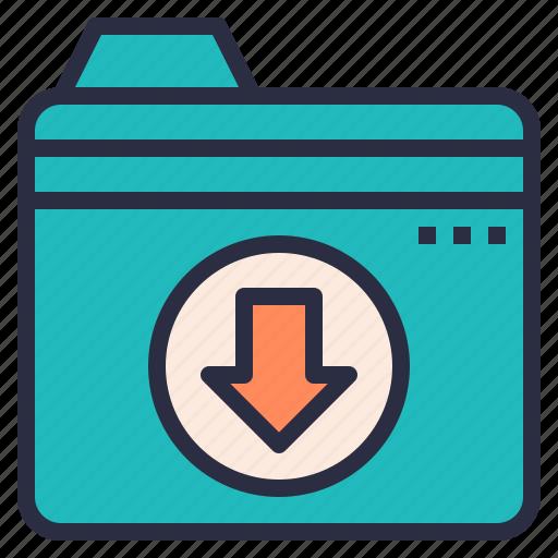 cloud, file, folder, storage, upload icon