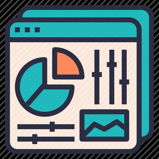 data, optimization, seo, summary, web, website icon