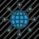 browser, internet, online, world icon