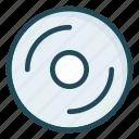 cd, disc, dvd, media icon