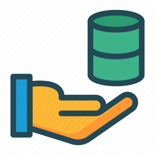 care, database, protection, server icon