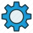 configure, gear, preference, setting icon