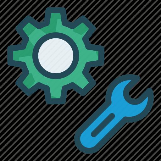 configure, preference, repair, setting icon