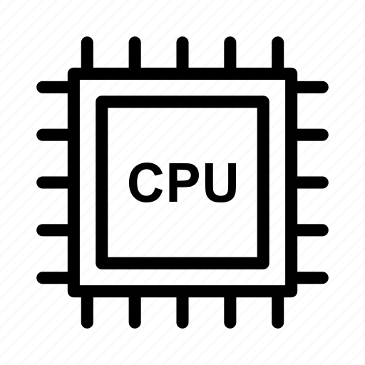 Chip, cpu, hardware, processor icon - Download on Iconfinder