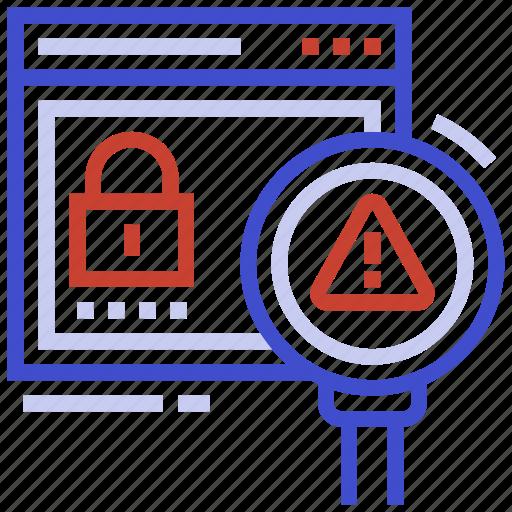 access, denied, error, file, message icon