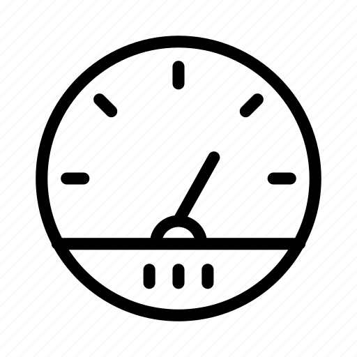 guage, meter, performance, speed icon