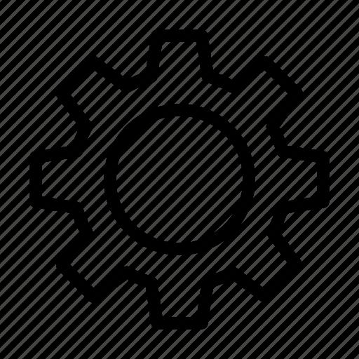 configure, gear, preference, setting icon