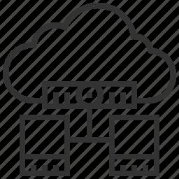 cloud, database, hosting, seo, server, storage, web icon