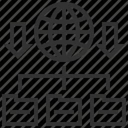 communication, connection, domain, forwarding, hosting, seo, web icon