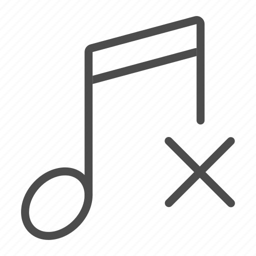 audio, close, music, note, radio, song, sound icon