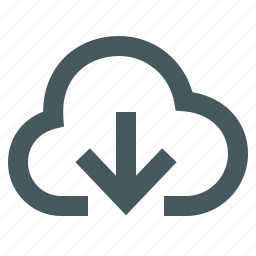 cloud download, gizmo, interface, internet, simple, web icon