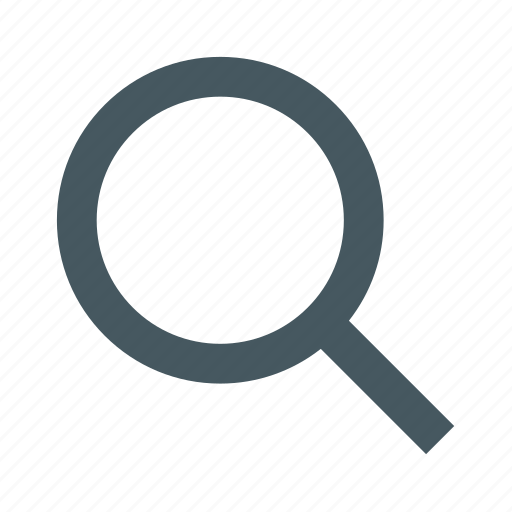 gizmo, interface, magnifying glass, search, simple, web icon