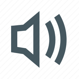gizmo, interface, medium volume, simple, sound medium, speaker, web icon