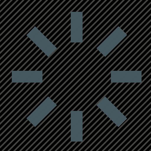 gizmo, interface, loading, web icon