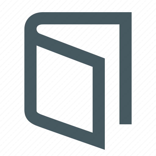 book, gizmo, interface, open book, web icon